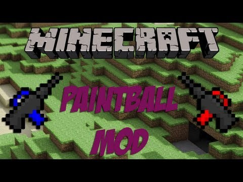 minecraft paintball