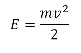 Калькулятор расчета скорости и энергии шара.