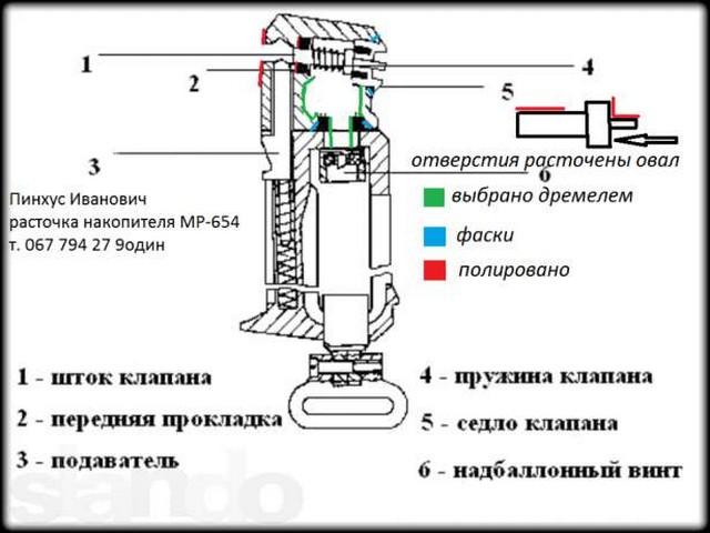 тюнинг мр654к расточка головы пошаговая инструкция