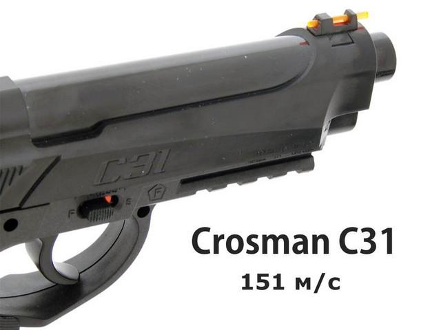 Crosman C31 – мощность по-
